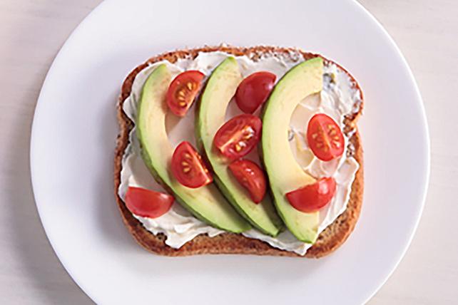 Creamy Jalapeño-Avocado Toast Image 1