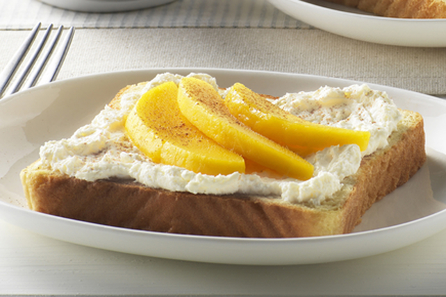 Mango 'n Cream Cheese Toast Image 1