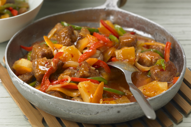 Sweet & Spicy Pork Stir-Fry Image 1
