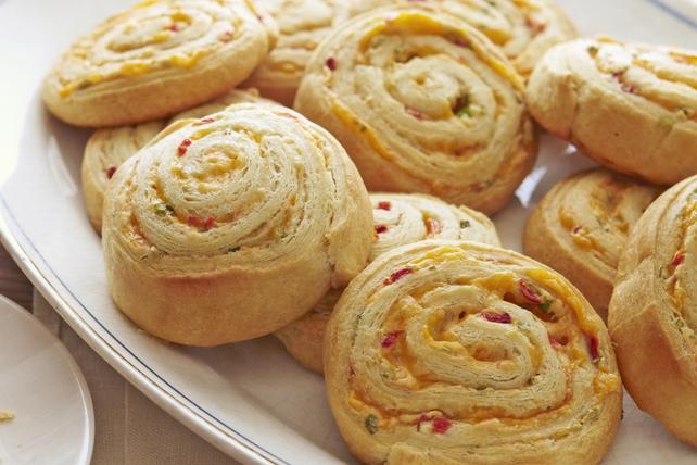 Pimento-Cheese Pinwheels Image 1