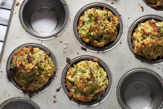 Cheddar-Broccoli Stuffing Cups Image 1