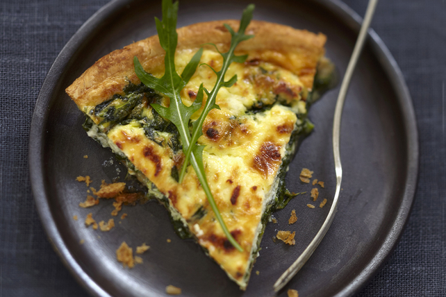 Greek Spinach & Feta Quiche Image 1