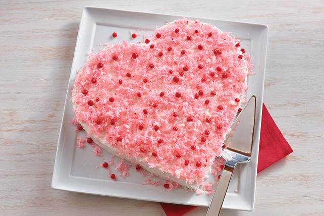 Gâteau en forme de cœur Image 1
