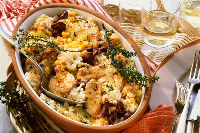 Creamy Warm Winter Chicken Bake Image 1