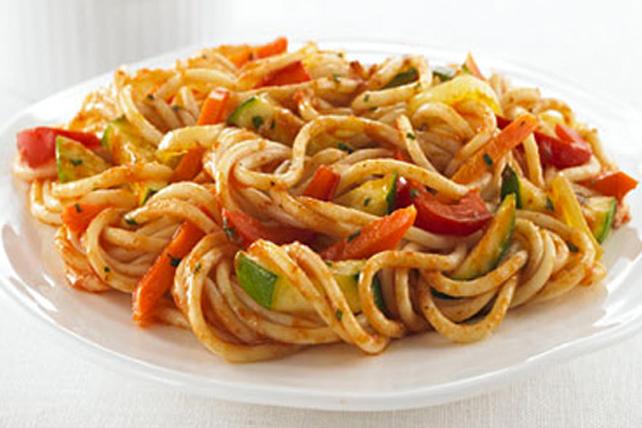 Spaghettis à la primavera Image 1
