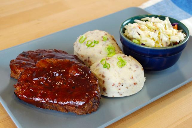 Kansas City-Style Meatloaf Dinner