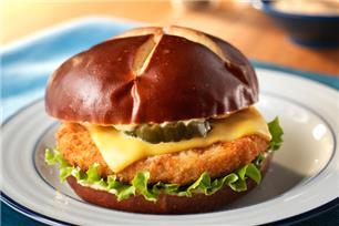Sandwichs épicés au poulet et aux piments jalapenos