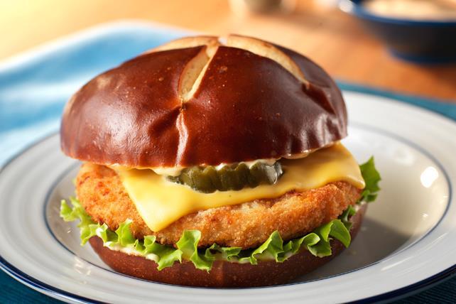 Sandwichs épicés au poulet et aux piments jalapenos Image 1