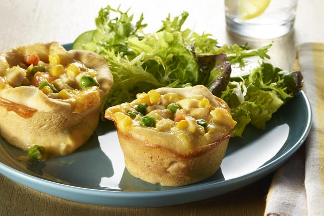 Cheesy Mini Chicken Pot Pie Minis Image 1