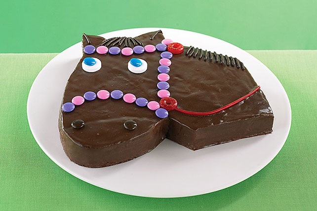 Giddy-Up Horse Cake Image 1