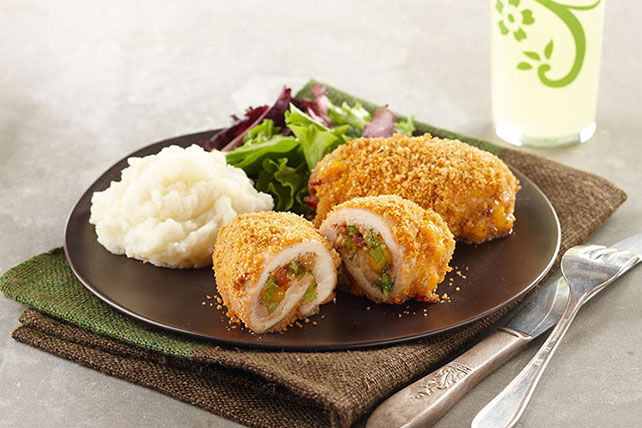 Broccoli-Cheddar Chicken Bundles Image 1