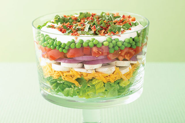 Layered Summer Salad Image 1