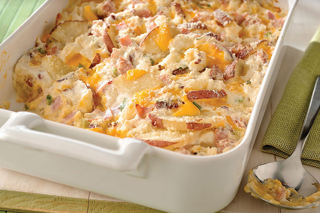 New-Look Scalloped Potatoes and Ham Image 1
