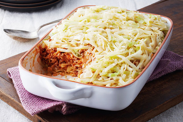 Easy Layered Cabbage Casserole Image 1