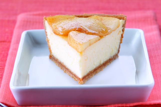 PHILADELPHIA® 3-STEP® Apple Cinnamon Cheesecake Image 1