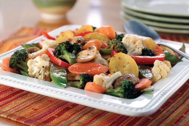 Fresh Sautéed Vegetables Image 1