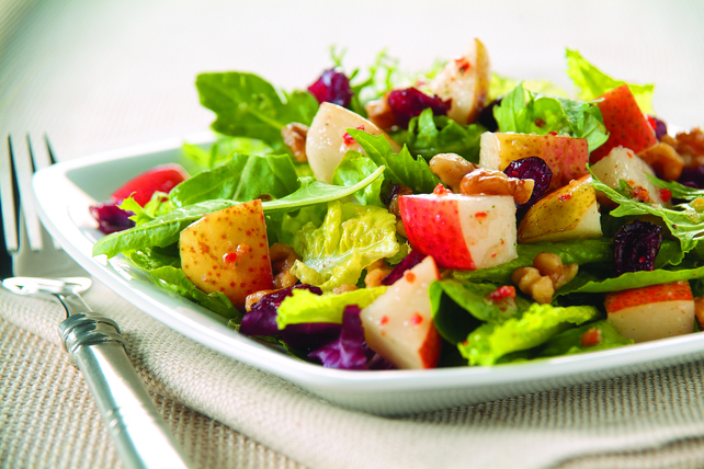 Tossed Pear and Cranberry Salad Image 1