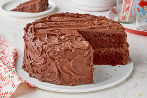 BAKER'S ONE BOWL Chocolate Cake Recipe