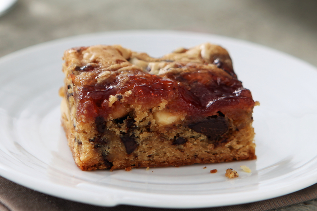 Peanut Butter and Jelly Brownies Image 1