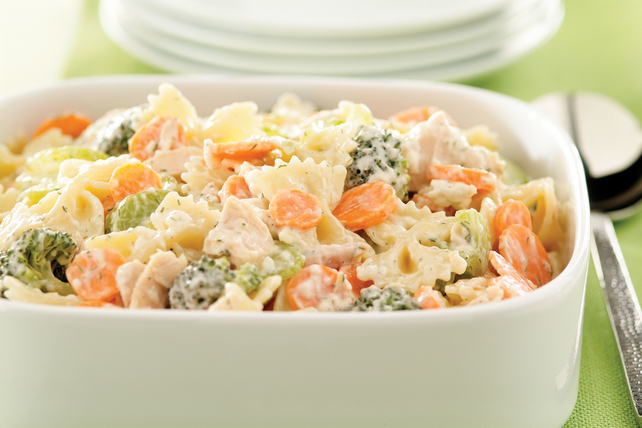 Low-Fat Summertime Tuna Pasta Salad Image 1
