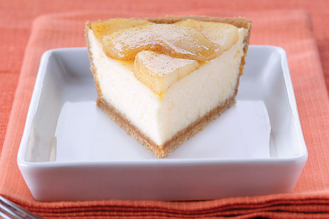 PHILADELPHIA® 3-STEP® Apple Cinnamon Cheesecake Image 1