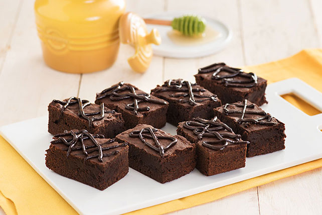 Chocolate-Honey Brownie Bars Image 1
