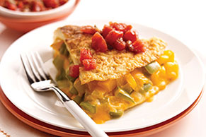 Cheese & Pepper Omelet
