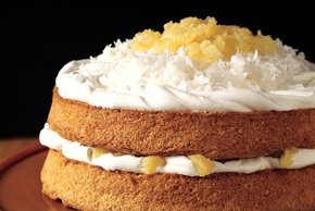Holiday Coconut Cake