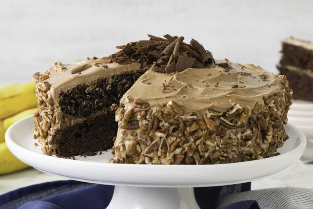 Gâteau divin au chocolat et aux bananes Image 1