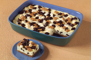 Cheesecake-S'mores Bars