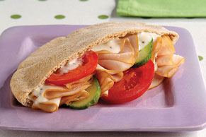 Easy Turkey Pita