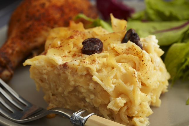 Noodle Kugel with Cherries Image 1