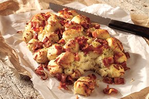 Bacon-Ranch Bread Bites