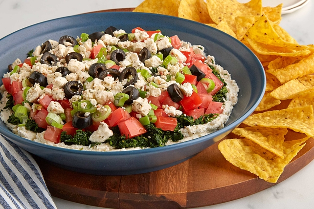 Mediterranean Six Layer Dip Image 1