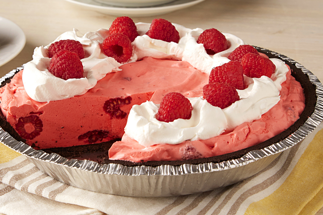 Raspberry-Ice Cream Pie Image 1