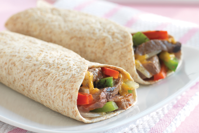 BBQ Grilled Steak Wraps Image 1