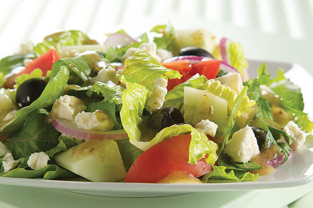 ATHENOS Greek Salad Recipe Image 1