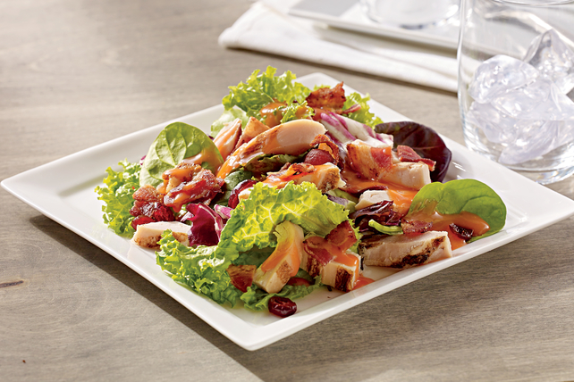 Harvest Bacon and Chicken Dinner Salad Image 1