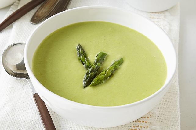Cream Of Asparagus Soup Recipe Image