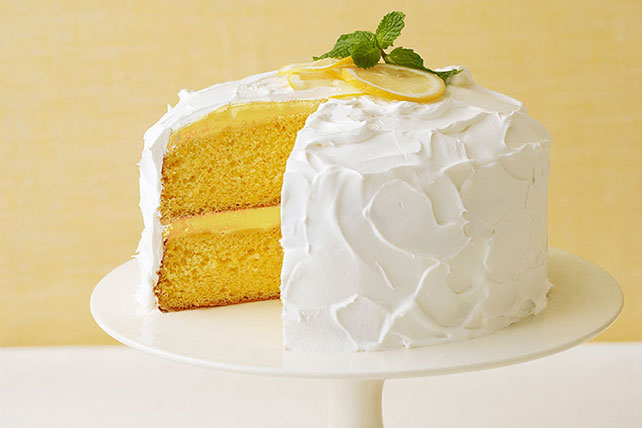 Easy Lemon Cake Recipe Kraft Canada