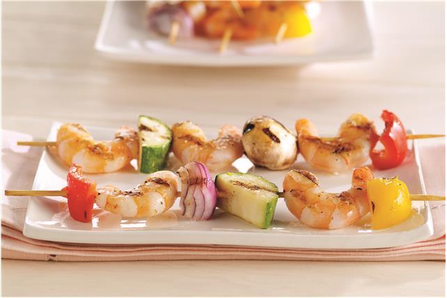 Margarita Shrimp and Vegetable Kabobs Image 1