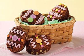BAKER'S ONE BOWL Easter Egg Brownies