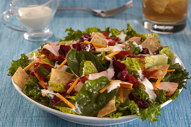 Easy Ranch Taco Chicken Salad Image 1