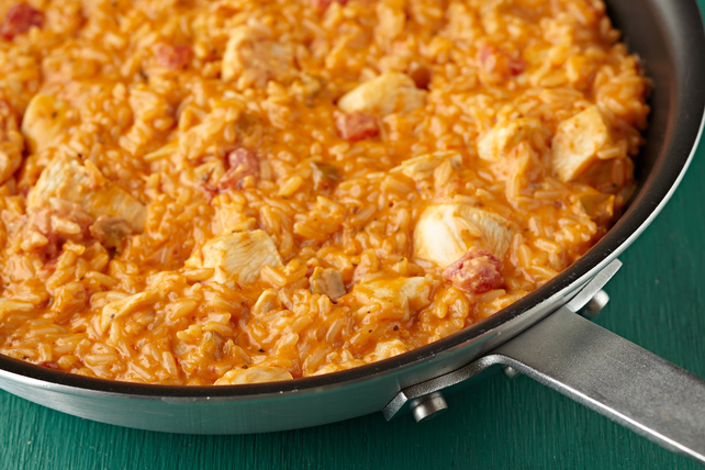 Cheesy Mexican Chicken & Rice Image 1