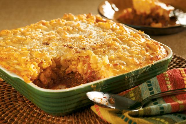 Beef 'n Macaroni Bake Image 1