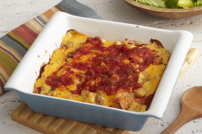 Casserole d'enchiladas au poulet Image 1