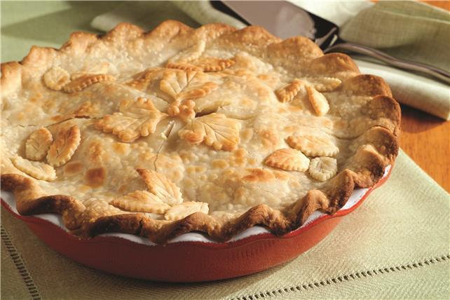 Fresh Deep-Dish Apple Pie Image 1