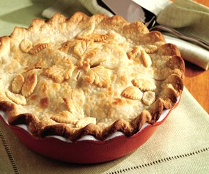Fresh Deep-Dish Apple Pie Image 1