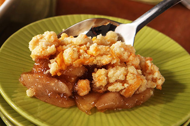 Apple Cobbler with Cheddar Cheese Biscuit Image 1