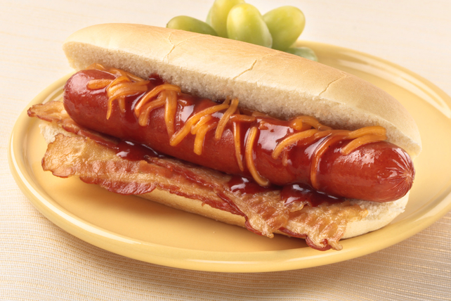 BBQ Bacon Cheese Dog Image 1